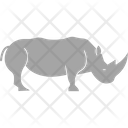 Rhino Rhinoceros Animal Icon