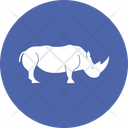 Rhino Rhinoceros Mamma Icon