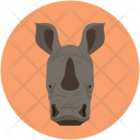 Rhinoceros Rhino Unicorn Icon