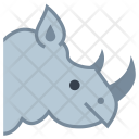 Rhinoceros Animal Icon