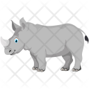 Rhinoceros Animal Rhino Icon