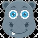 Rhinoceros Hippopotamus Rhino Icon