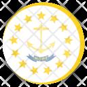Rhode Island Us Icon