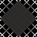 Rhombus Design Shape Icon