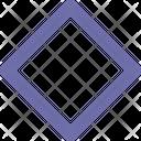 Rhombus Symbol Sign Icon