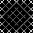 Shape Diamond Design Icon