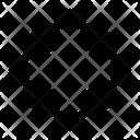 Rhombus Geometry Math Icon
