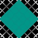Rhombus Shapes Icon