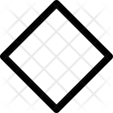 Rhombus Shape Icon