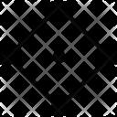 Rhombus Form Figure Icon