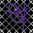 Rhythmic Gymnastics Ring Icon