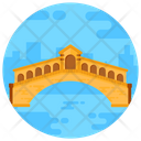 Rialto Bridge Arch Bridge Footbridge Icon