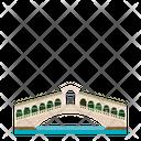 Rialto Bridge Icon