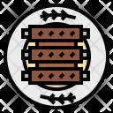 Rib Barbecue Icon