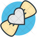 Ribbon Bow Heart Icon