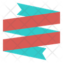 Ribbon Fold Banner Icon