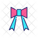 Ribbon Party Ribbon Birthday Icon