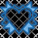 Ribbon Award Badge Icon
