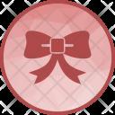 Ribbon Celebration Christmas Icon
