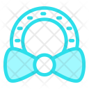 Ribbon Ornament Bow Icon