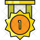 Ribbon Medal Reward Icon