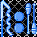 Ribbon Ball Figure Icon