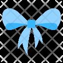 Blue Ribbon Decorations Icon