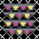 Ribbon Decoration Garland Icon