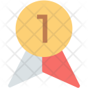 Ribbon Badge Positon Icon