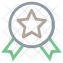 Ribbon Badge Medal Icon