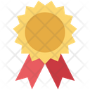 Medal Prize Reward Ribbon Icon