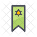 Ribbon Badge Label Victory Icon