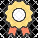 Ribbon Badge Quality Guarantee Icon