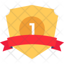 Ribbon Shield Badge Icon
