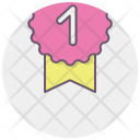 Ribbon Winner One Icon