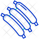 Ribs Meat Barbecue Icon