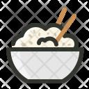 Rice Grain Bowl Icon