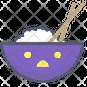 Rice Rice Bowl Chinese Food Icon