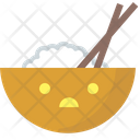 Rice Rice Bowl Chinese Food Icon