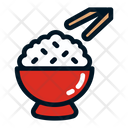 Rice Rice Bowl Meal Icon