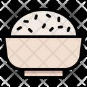 Rice Bowl Asian Icon