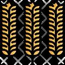 Rice Wheat Grain Icon