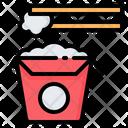 Rice Box Take Away Icon