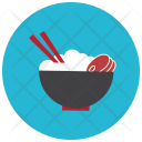 Asian Bowl Beef Icon