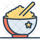 Rice Food Bowl Icon