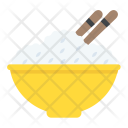 Boiled Rice Food Icon