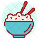 Italian Cuisine Rice Bowl Food Bowl Icon