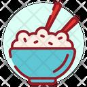 Italian Cuisine Rice Bowl Food Bowl Icon