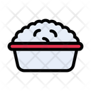 Rice Bowl Food Icon