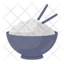 Rice Bowl Boiled Rice Food Icon